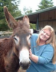 Suzan with horse animalwisperer